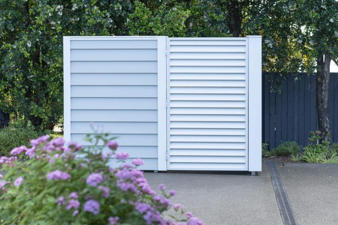 aluminum shutter gate